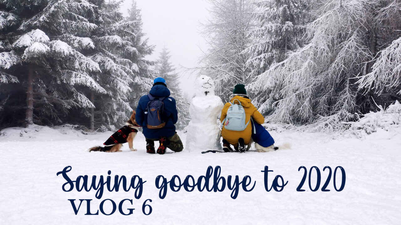 VLOG 6: SAYING GOODBYE TO 2020: Christmas preps, New Year's resolutions and snowy winter